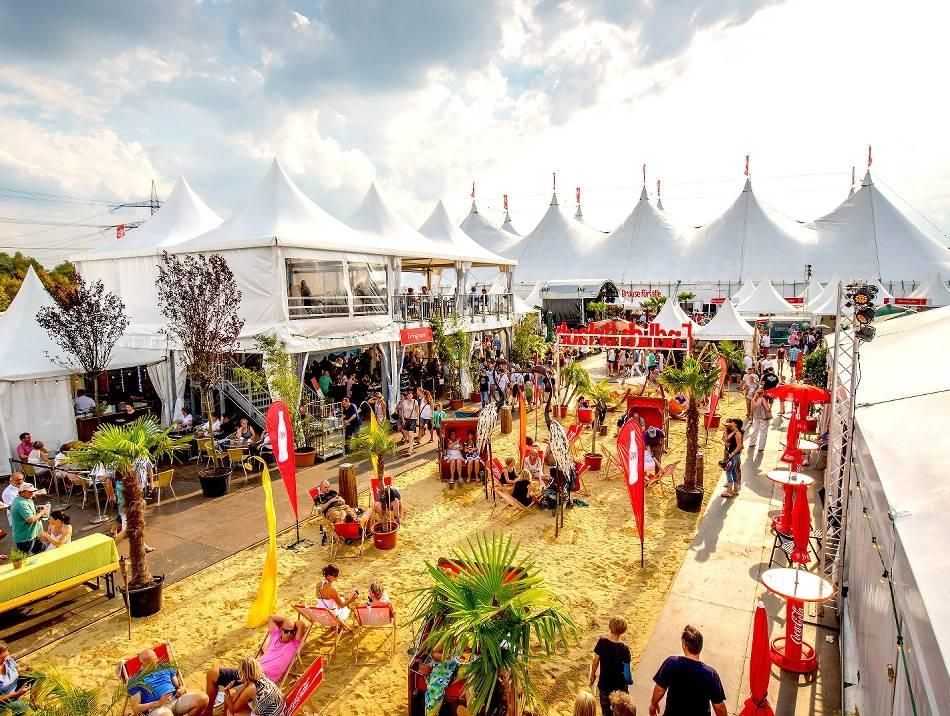 Festival: Zeltfestival Ruhr - Die weiße Stadt am Kemnader See erwacht