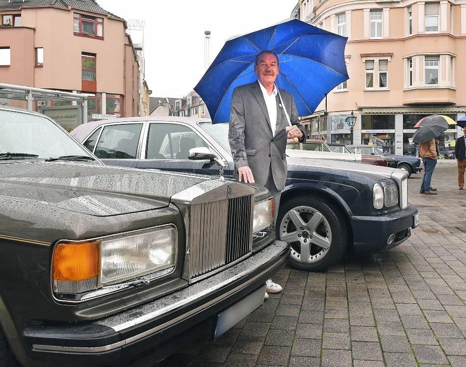 Rolls-Royce-Treffen: Ein Luxuswagen erfüllt die Träume aus Kindheitstagen