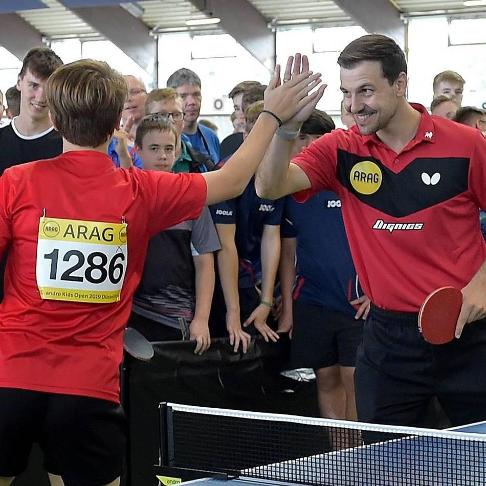 Kids Open der Borussia: Kids Open: Tischtennisfest für Kinder aus aller Welt
