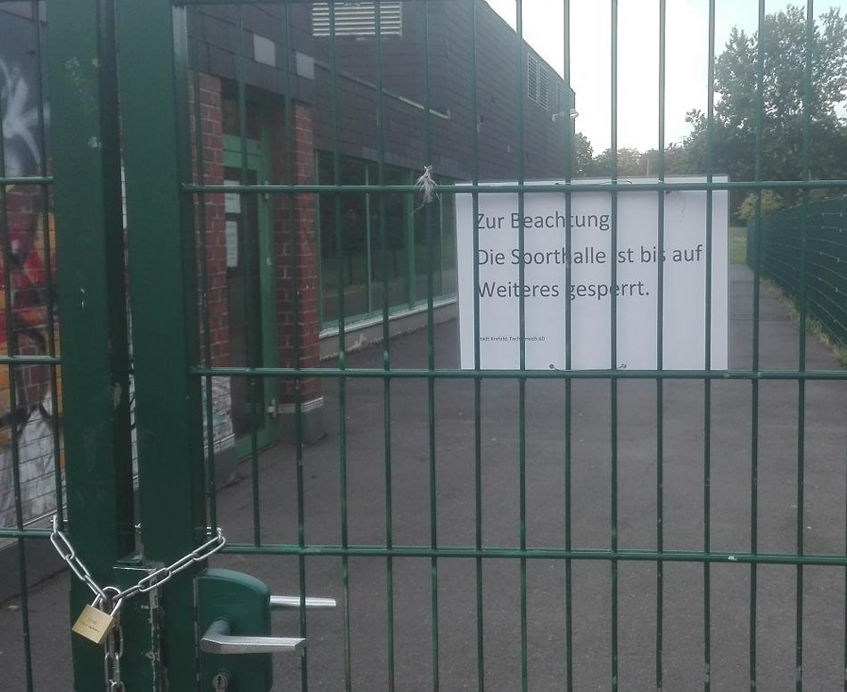 Handball: Ärger um Handball-Harz eskaliert: Krefeld macht zwei Sporthallen dicht