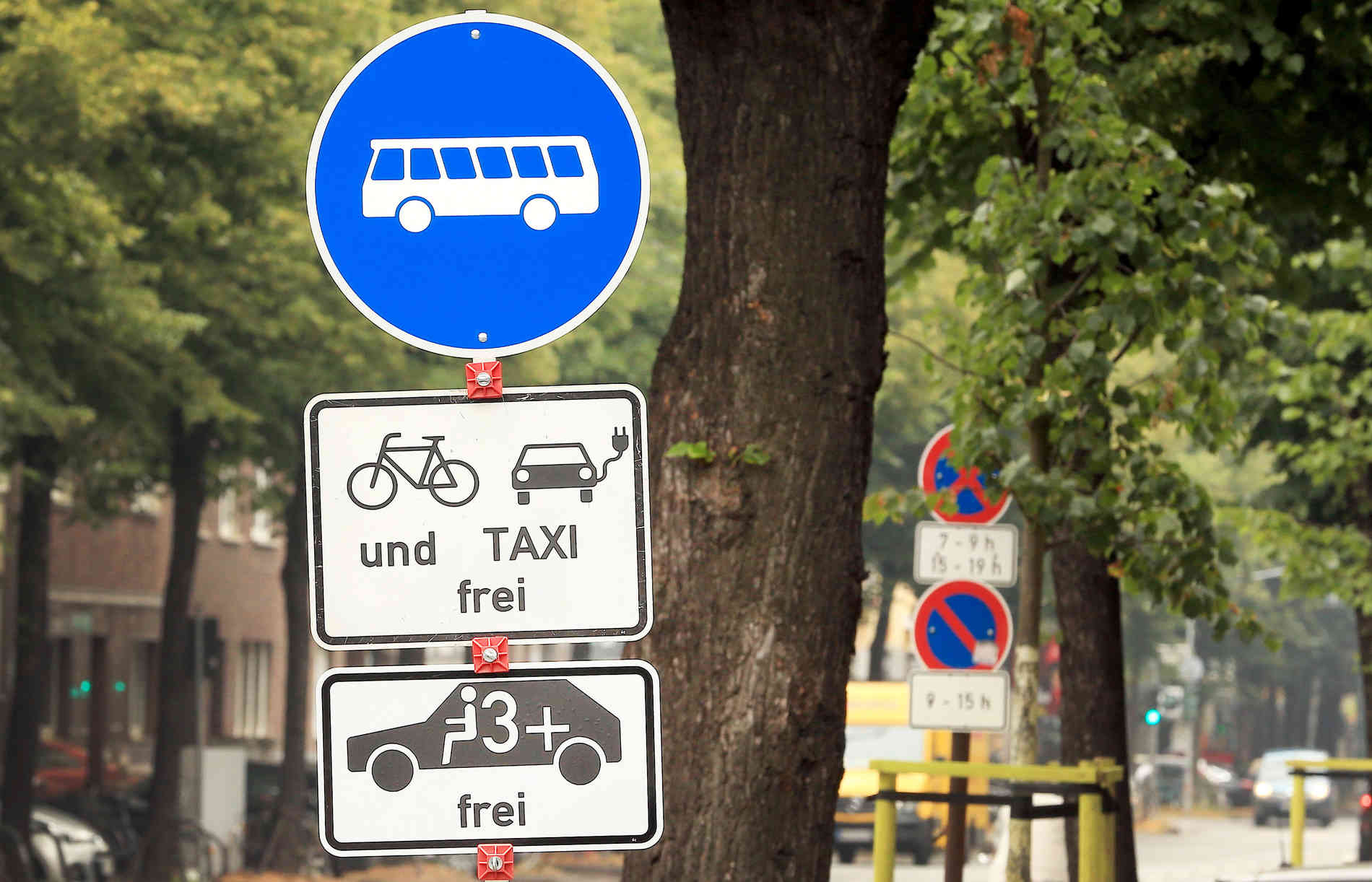 Düsseldorf Umweltspur