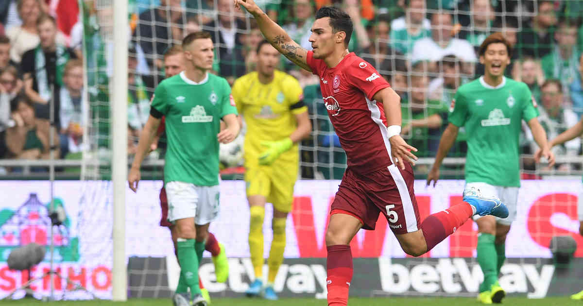 Vertragsverlängerung : Kaan Ayhan verlängert bei Fortuna Düsseldorf - Westdeutsche Zeitung