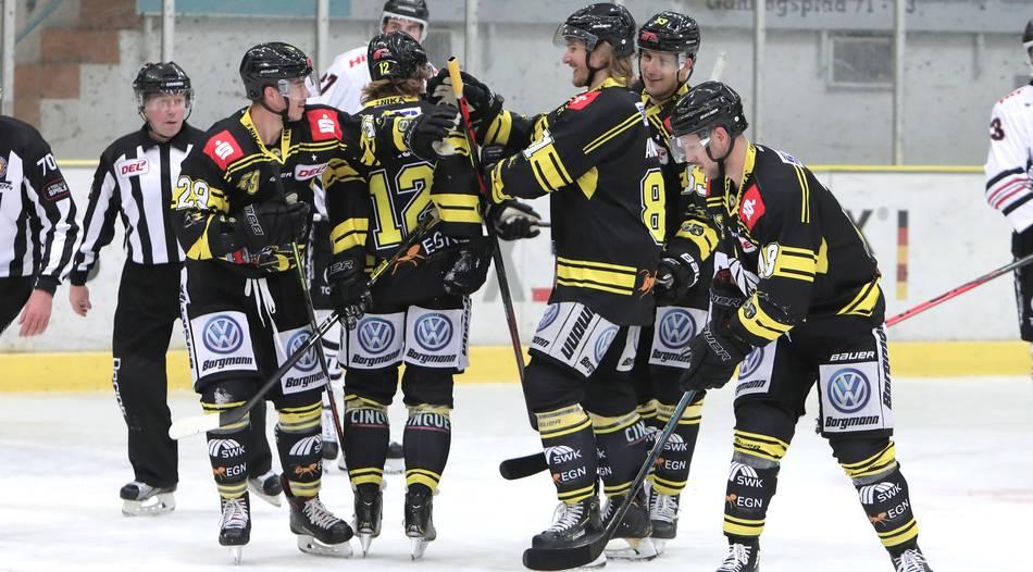 Eishockey: Krefeld Pinguine vs. Augsburger Panther - Das Spiel im Liveticker