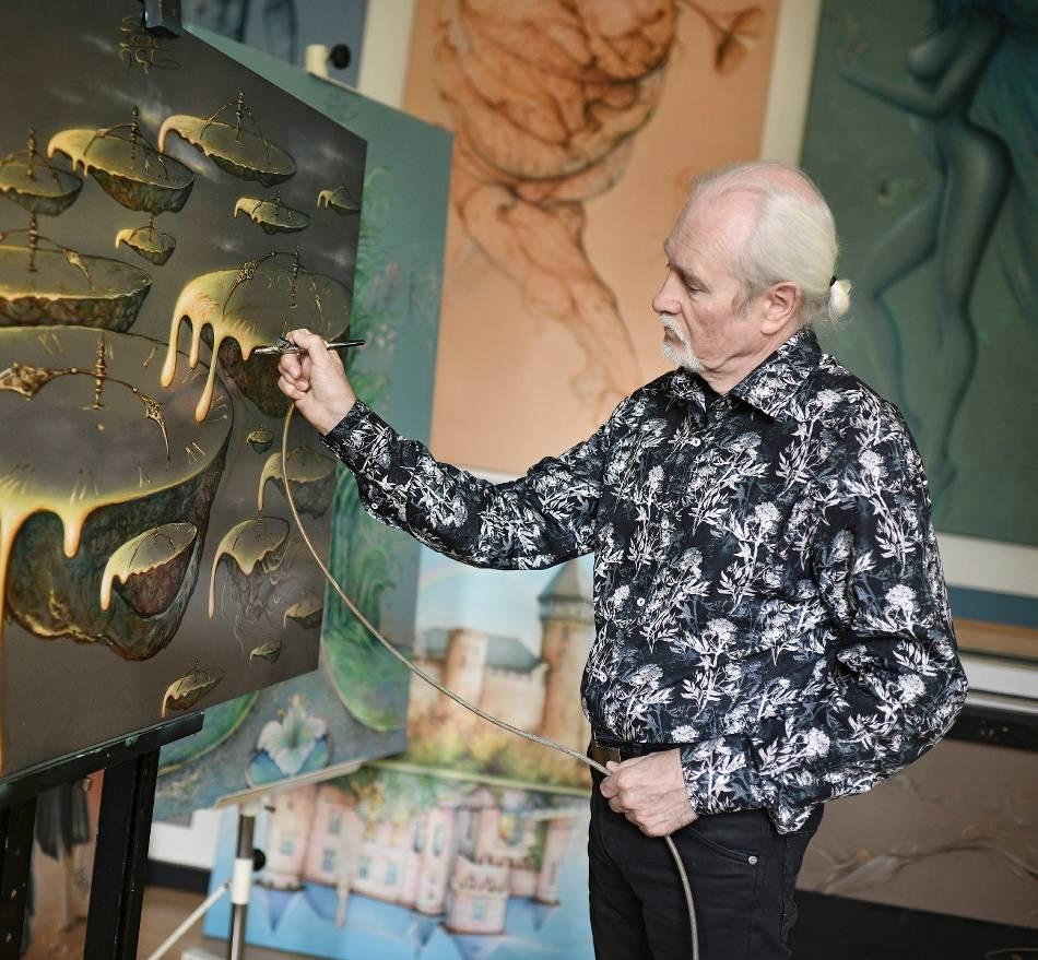 Künstler: Die Natur im Atelier – Jerzy Chartowski öffnet seine Werkstatt