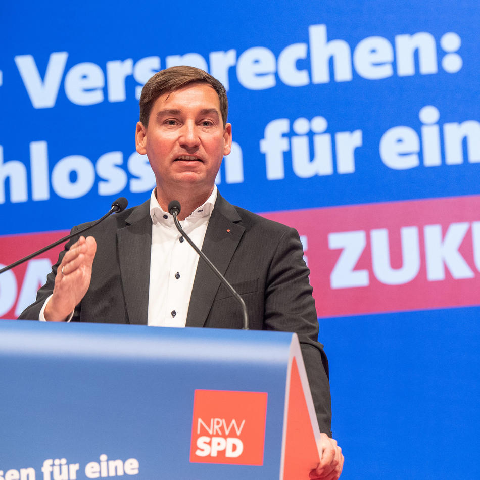 SPD-Parteitag: Rot pur - Hartmann rückt die SPD in NRW nach links