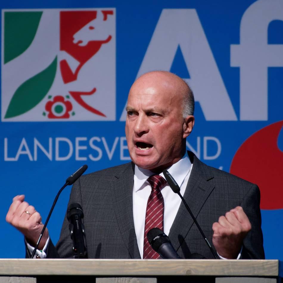 Parteitag in Kalkar: Parteitag der AfD NRW: Sieg der vermeintlich Gemäßigten