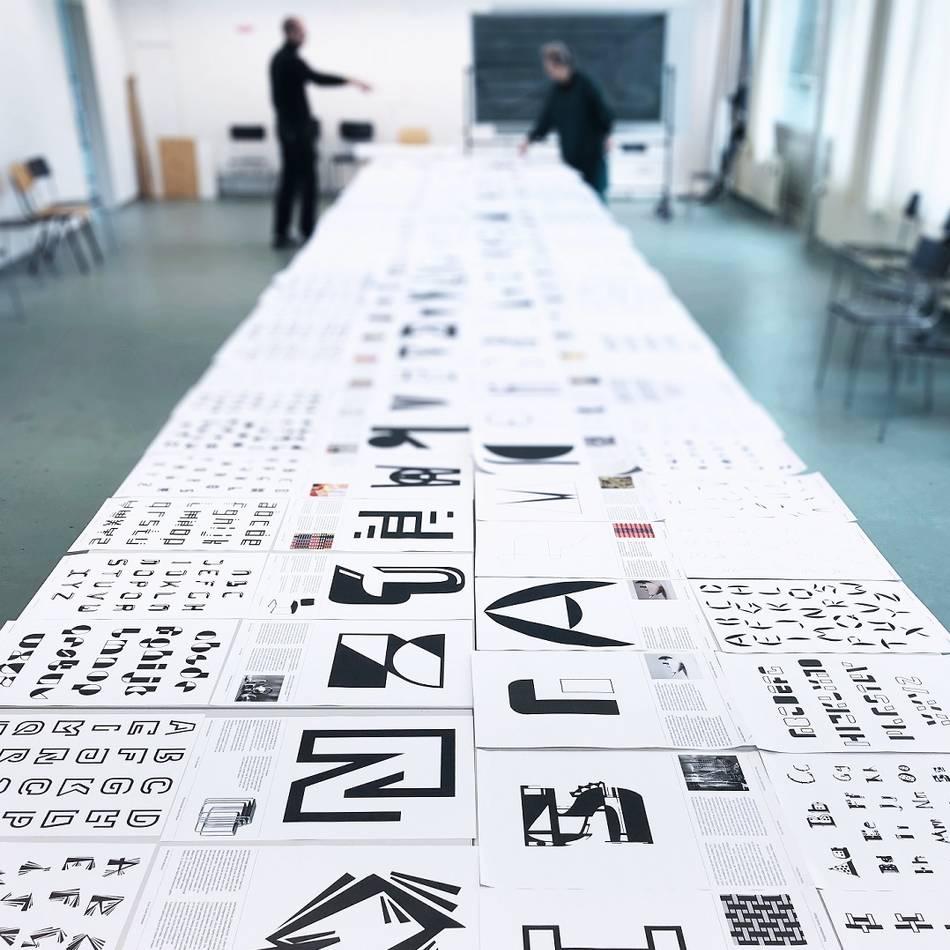 Bauhaus: 1768 Buchstaben zum Geburtstag – Bauhaus-Schriften ab Dienstag zu sehen