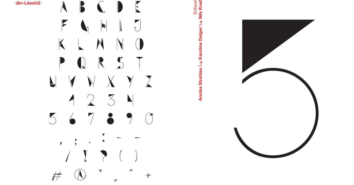 Serie: Bauhaus-Buchstaben: László Moholy-Nagy: Die Schrift zum Mann, der mit der Kamera malte