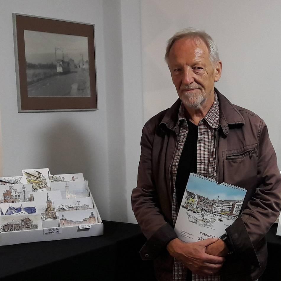 """Museum """"Kamps Pitter"""": Heimatfreunde legen Weißkohl ein und stellen Skizzen aus"""