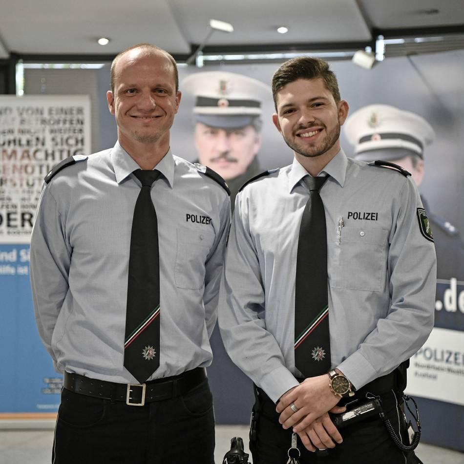 Polizei Krefeld: Das haben zwei neue Kommissare schon erlebt