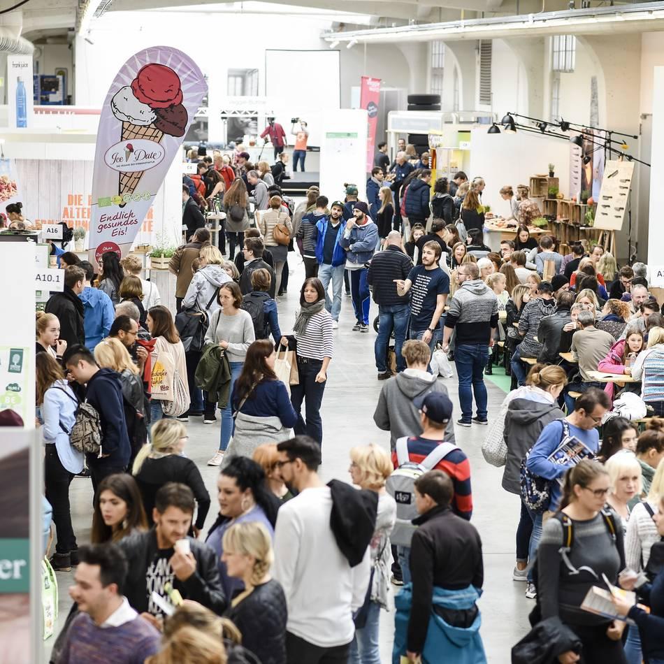 Nachhaltigkeit: Das bietet die Veggie-World im Düsseldorfer Areal Böhler
