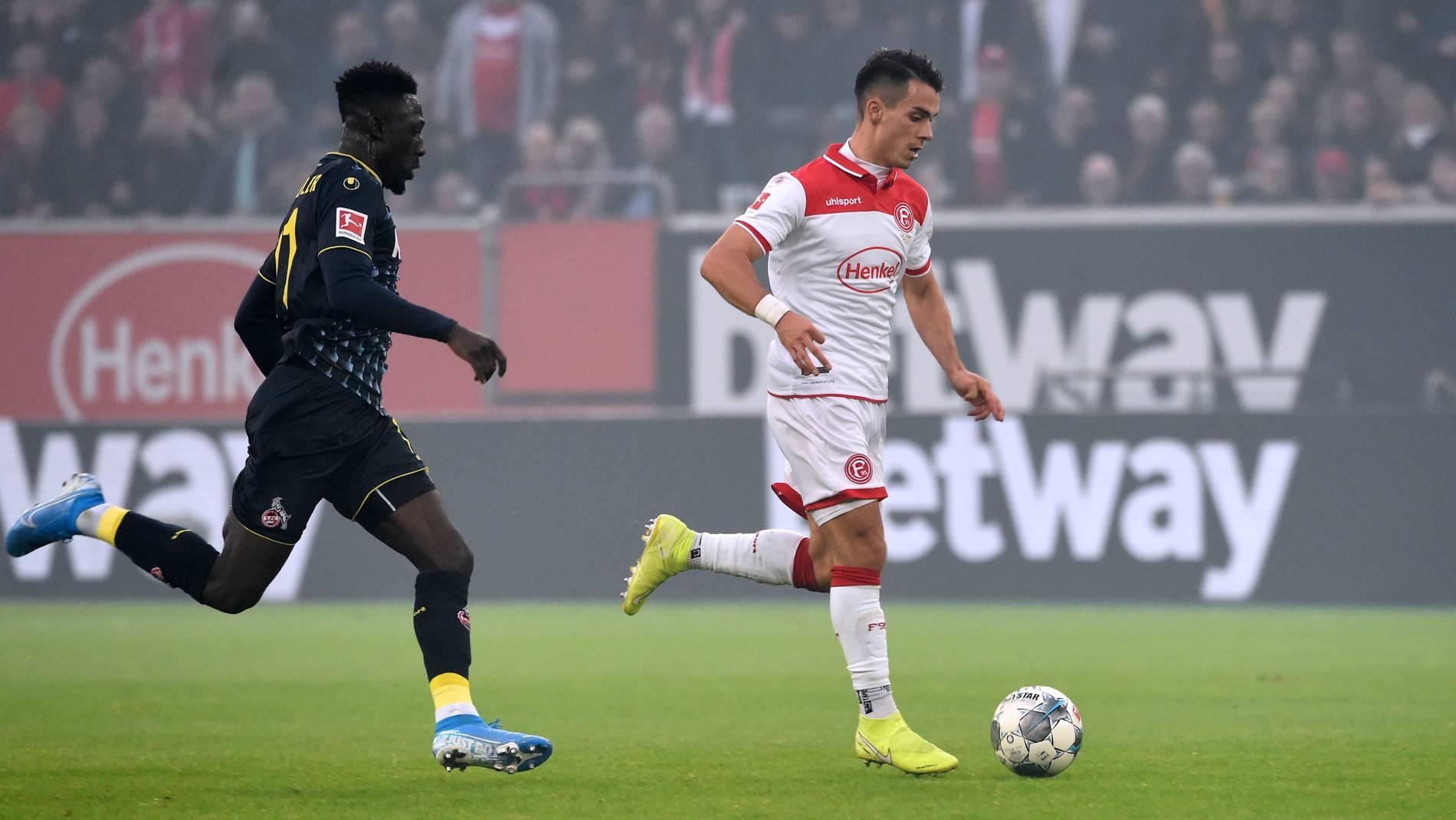 Fortuna Dusseldorf Feiert Gegen Koln Einen Sieg Der Mentalitat