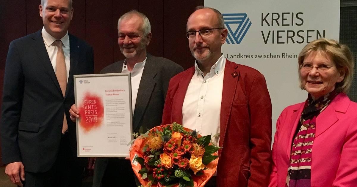 Kreis Viersen würdigt freiwilliges Engagement mit einem neuen Ehrenamtspreis - Westdeutsche Zeitung