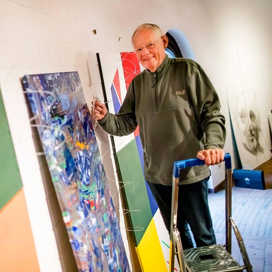 Ausstellung in Lank-Latum: Meerbuscher Künstler zeigen Vielseitigkeit