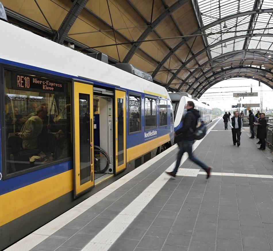 Personennahverkehr : Niers-Express fährt von Dezember bis April nicht nach Düsseldorf