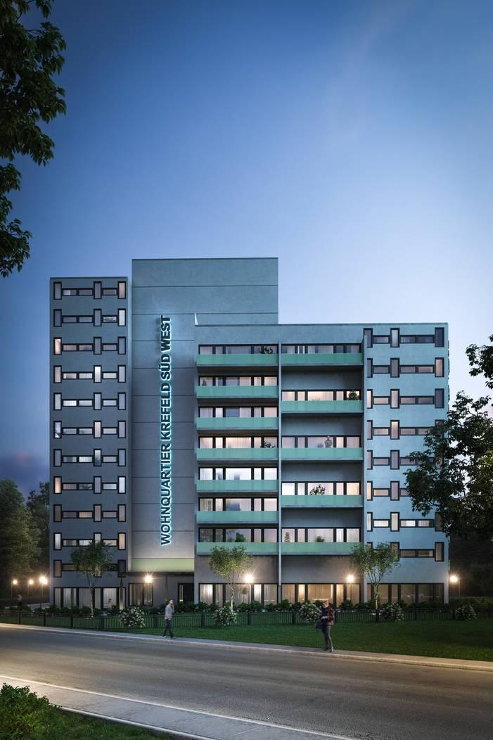 Hochhaus-Umbau in Krefeld: Architekt bei Ebay-Kleinanzeigen ...