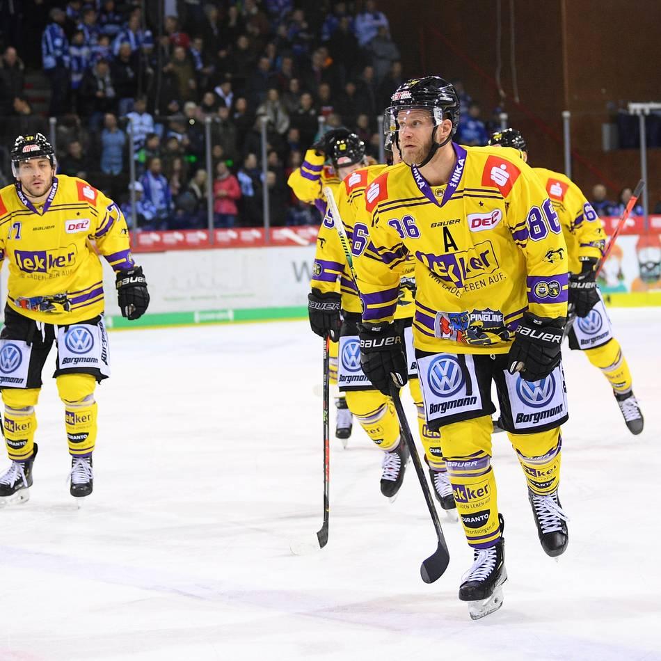 Eishockey: Krefeld Pinguine vs. EHC München - Jetzt im Liveticker