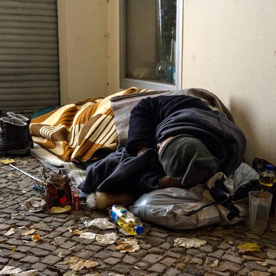 Armut: Wohnungslose: Bedarf an Angeboten steigt