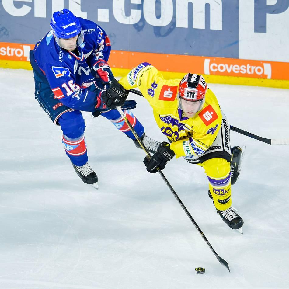 Spielchronik: Krefeld Pinguine vs. Adler Mannheim - So lief das Spiel