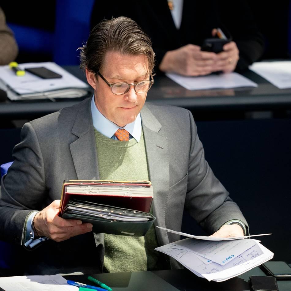 Untersuchungsausschuss zur Maut: FDP will Scheuers Handy für Maut-Ermittlung