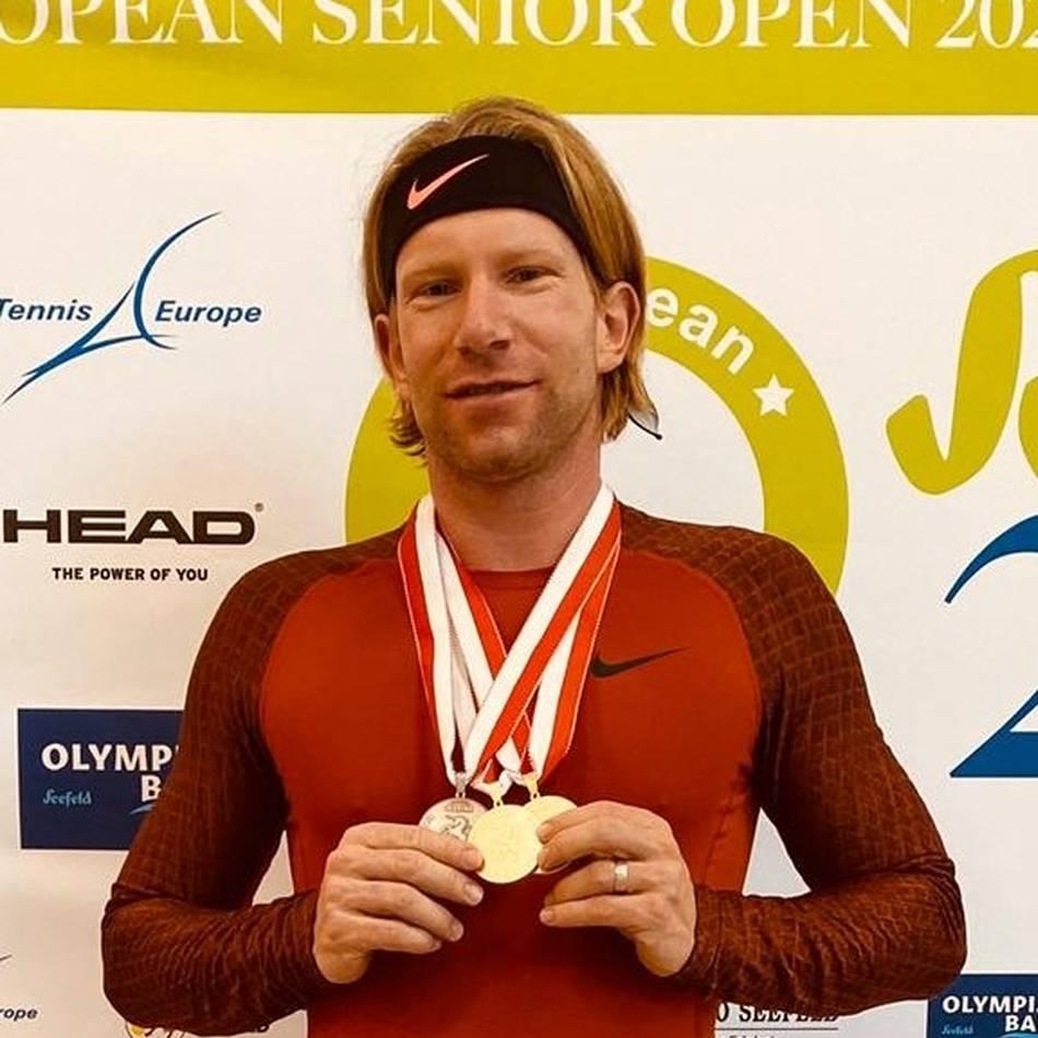 Tennis: Jens Janssen ist jetzt zweifacher Europameister