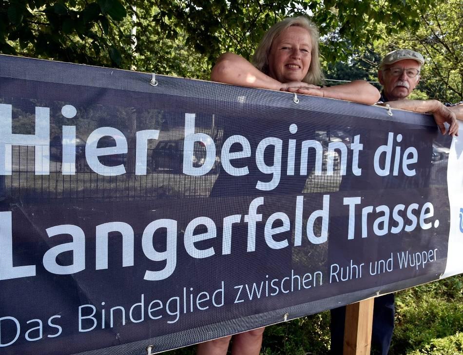 Radverkehr: Im Streit um die Langerfeldtrasse will die Stadt kein Risiko eingehen