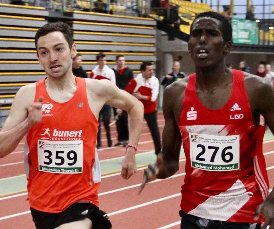Leichtathletik: Maximilian Thorwirth wird immer schneller