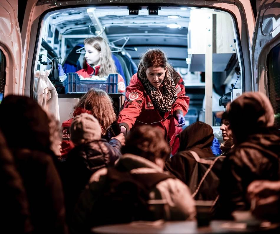 Aachen: Über Leben in der Kälte – mit Helfern vor Ort