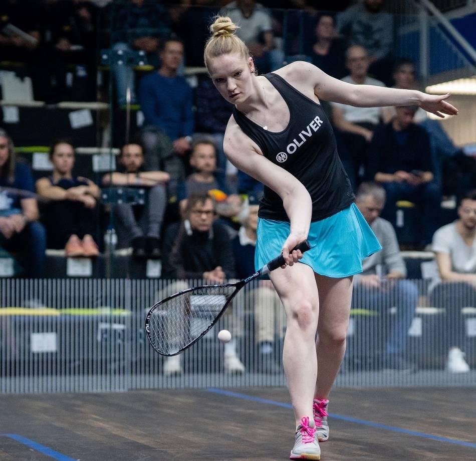 Squash: Saskia Beinhard gewinnt Squash-DM