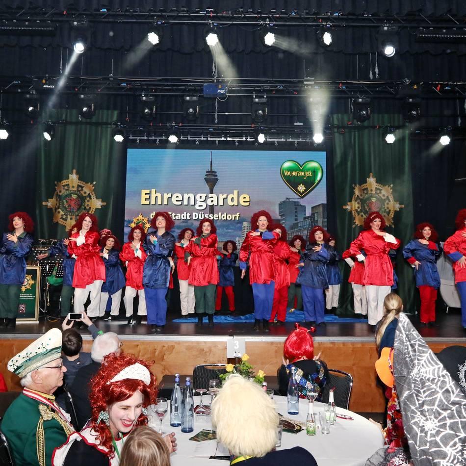 Karneval in Düsseldorf: Aus Köln verbannt, in Düsseldorf dabei