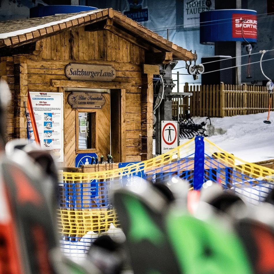 Ski-Verein aus Krefeld: Drüben auf dem Hügel