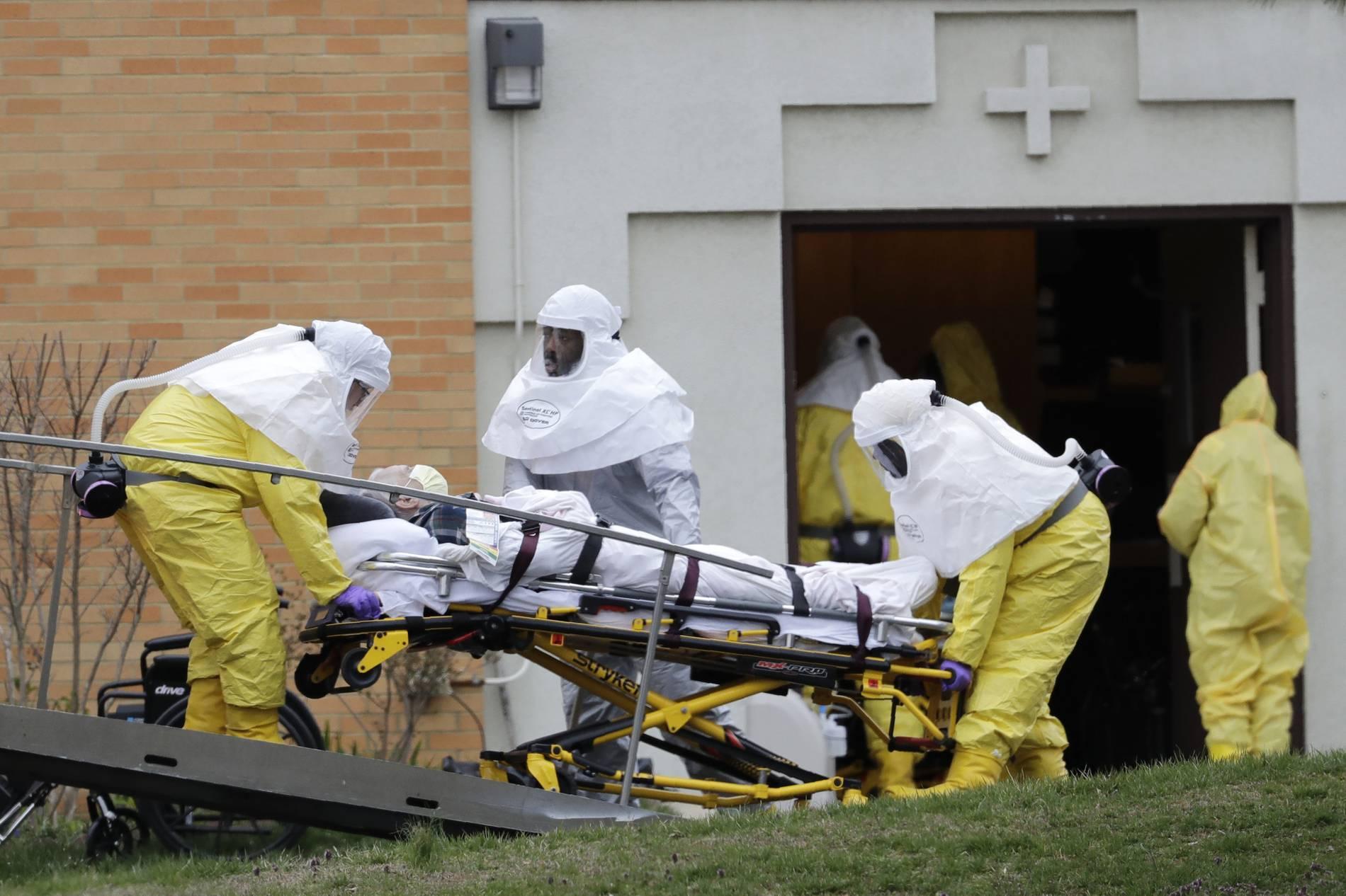 Trump riegelt Corona-Hotspots nicht ab - mehr als 2400 Tote