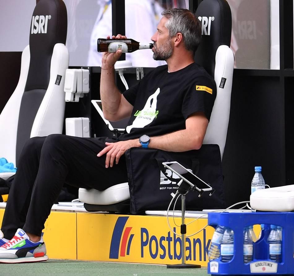 Fußball: Borussia Mönchengladbach und der abgepasste Triumph