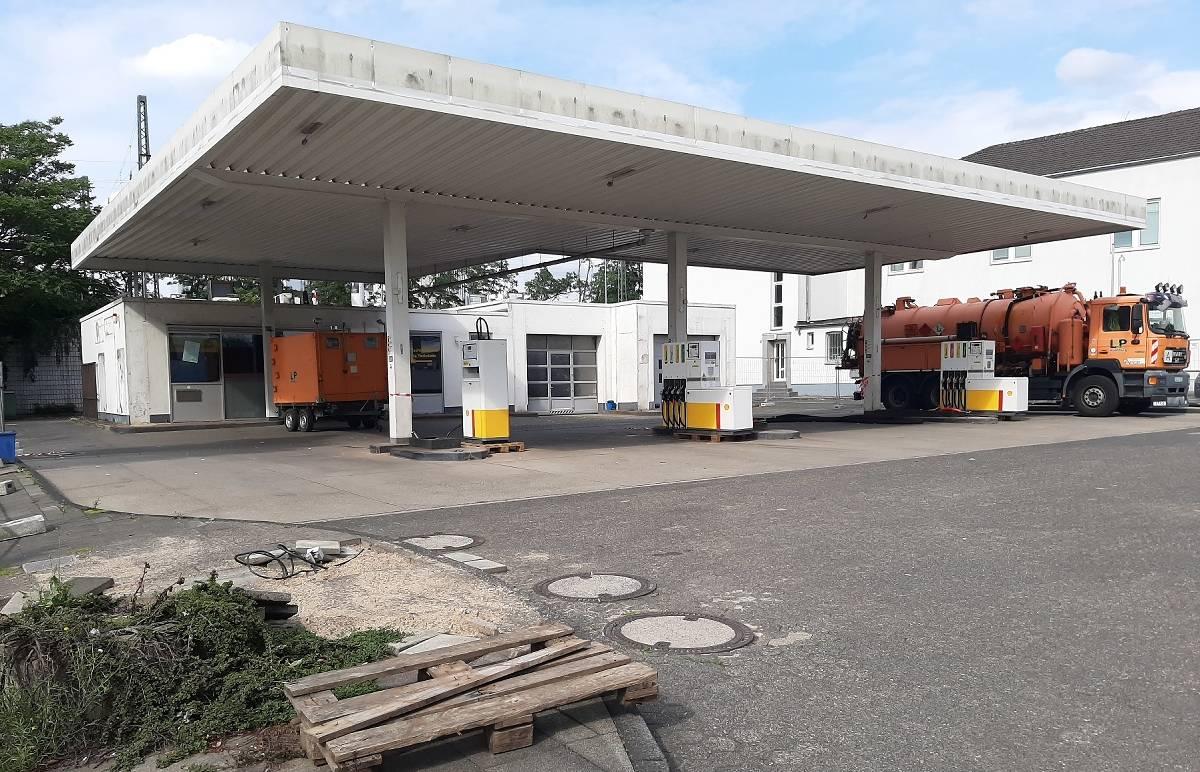 Shell Tankstelle Düsseldorf Flughafen