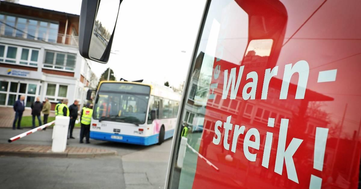 160 000 Fahrgäste in Wuppertal von Verdi-Streik betroffen