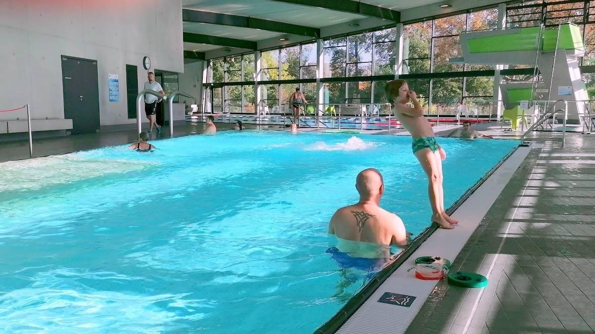 In nrw schwimmen nackt FKK für