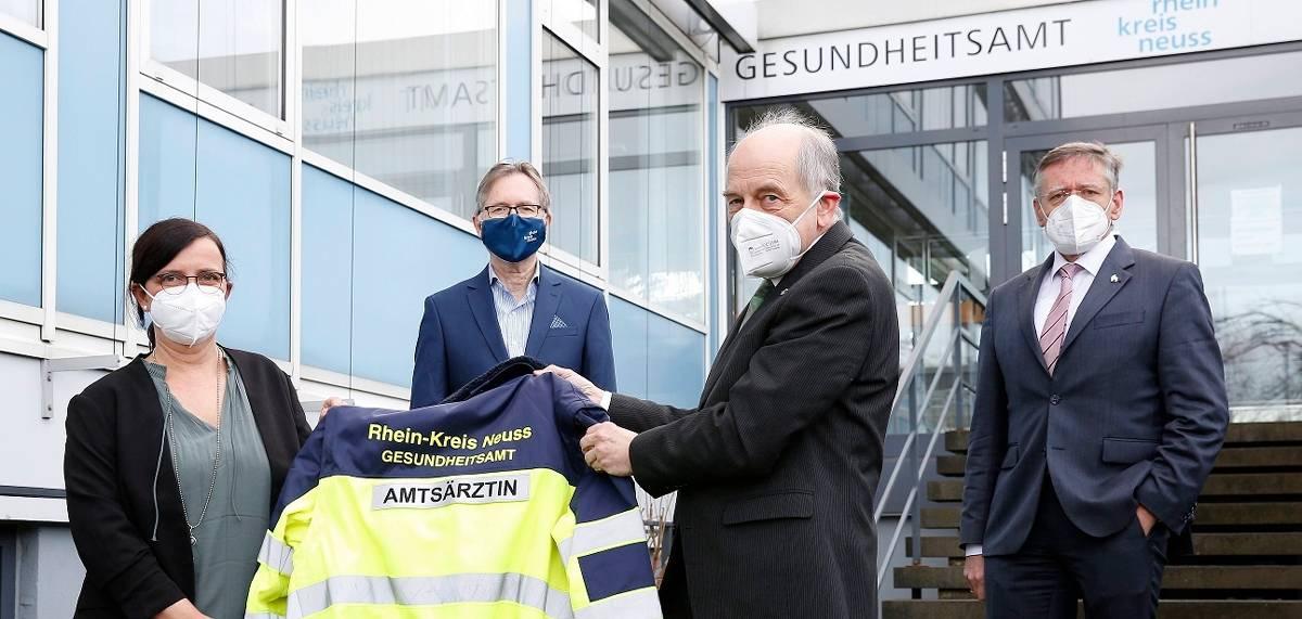 Gesundheitsamt Rhein Kreis Neuss Albrecht Ubernimmt Die Leitung Von Dorr