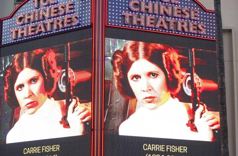 Betroffenheit: Hollywood trauert um Carrie Fisher